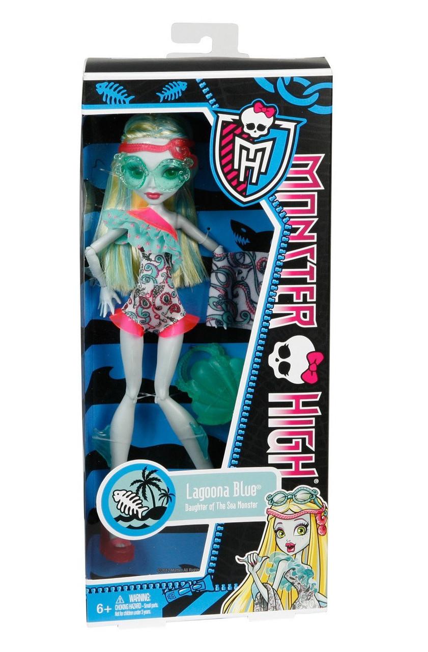 Кукла Монстер Хай Лагуна Блю - В купальнике: продажа, цена ...