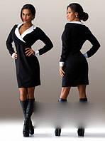 """Женское короткое платье делового стиля """"Габи"""" (02-1192)"""