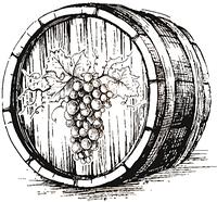 """Вино """"Шато де Вин""""  белое полусладкое10 литров"""