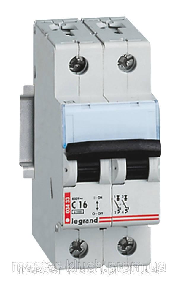 Автоматический выключатель Legrand 2Р С 50А