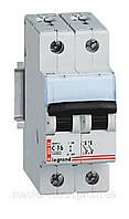 Автоматический выключатель Legrand 2Р С 50А, фото 1