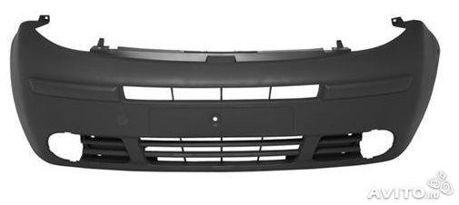 Бампер передний под противотуманки на Renault Trafic  2001->2006 - RENAULT (Оригинал) - 7700313259