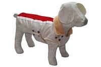 Попона для собак Мех Мини, 20х25 см