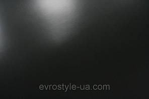 Кожволон глянцевый гладкий цвет черный