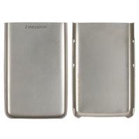 Задняя крышка батареи для мобильного телефона Nokia 6300, серебристая,