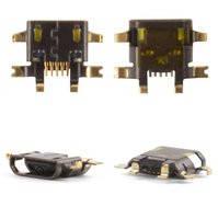 Коннектор зарядки для мобильных телефонов HTC myTouch 4G, T320e One V , T326e Desire SV, T328e Desire X, T328w Desire V, 5 pin, micro-USB тип-B