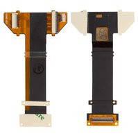 Шлейф для мобильных телефонов Sony Ericsson R800, Z1, copy, межплатный, с компонентами
