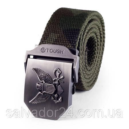 Тактический мужской ремень для брюк Tactical Marines цвет хаки