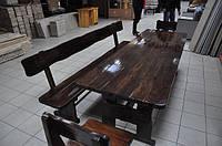 Деревянная мебель для дома и сада, ресторана и кафе