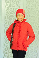 Детская весенняя куртка для девочки Одри рр 122-146