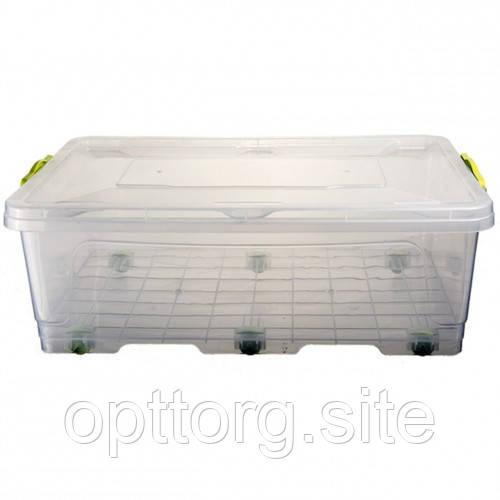Контейнер пищевой пластиковый с крышкой BigBox №1 -30 л