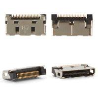 Коннектор зарядки для мобильных телефонов Samsung C120, C130, C200, C210, C230, C300, D500, E350, E700, E710, N400, Q200, T500, X100, X200, X300,