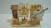Сувенир деревянный музыкальный размер 16*12*6