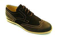 Броги мужские туфли, фото 1