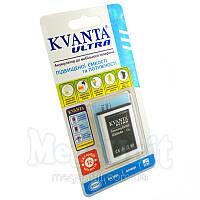 Усиленный аккумулятор KVANTA. Samsung S5360 Galaxy Y (S5300 Pocket) 1250мАч