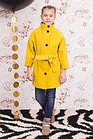 Детское весеннее пальто для девочки Леди рр 122-152