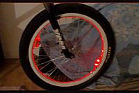 Подсветка колеса —холодным гибким неоном 5.0мм