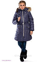 Зимнее пальто на флисе, Baby Line р.128,146