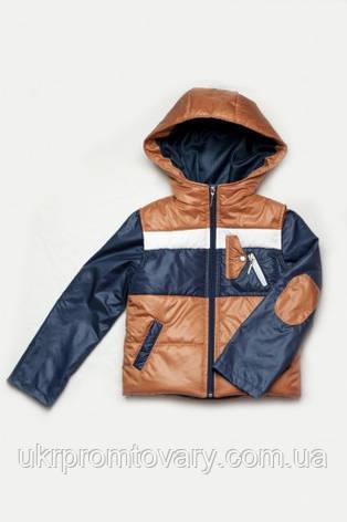Куртка и жилетка для мальчика, демисезонный комплект, фото 2