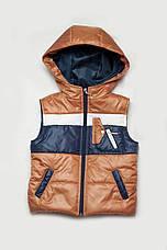 Куртка и жилетка для мальчика, демисезонный комплект, фото 3