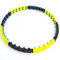 Обруч массажный с магнитами Hula Hoop (1,8 кг, d-110 см)