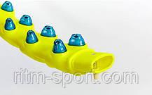 Обруч массажный с магнитами Hula Hoop (1,8 кг, d-110 см), фото 3