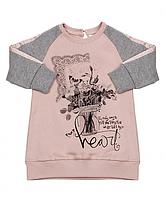 Итальянская детская одежда Gaialuna, красивая туника для девочки р-ры 74,80,86