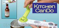 Универсальная открывашка Kitchen CanDo 8 в 1 для любых банок и бутылок (Арт. 811)