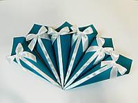 Кулечек для лепестков бирюзовый, фото 1