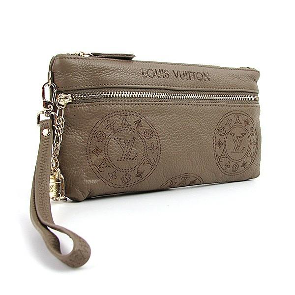 384fe0dba20e Клатч - кошелек женский натуральная кожа хаки Louis Vuitton - купить ...