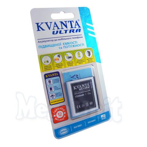Усиленный аккумулятор KVANTA. HTC Desire HD (a9191) 1320mAh