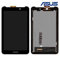 Дисплейный модуль (дисплей + сенсор) для Asus FonePad 7 FE170CG, черный, оригинал