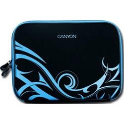 "Чохол до ноутбука CANYON 10"" чорний + блакитний, тканина"