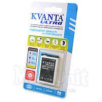 Усиленный аккумулятор KVANTA. Nokia BL-5J (520, 620, 5800) 1550mAh, фото 1