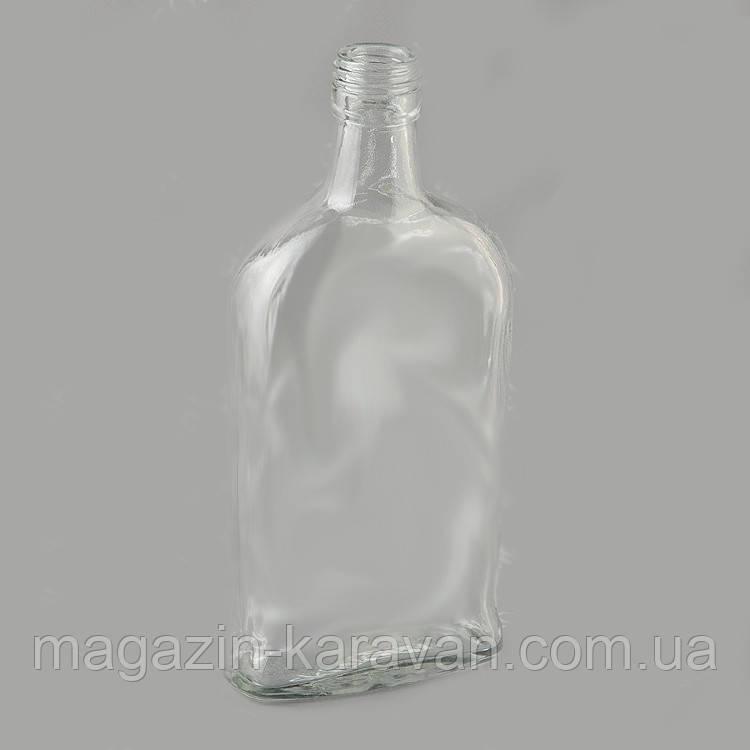 Маленькая стеклянная фляга №2, 0,25 л.