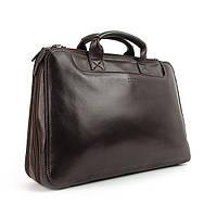 Портфель модерн кожаный коричневый Bond 1205-4 Турция