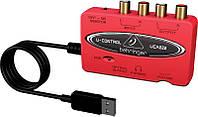 Аудио интерфейс BEHRINGER U-CONTROL UCA222