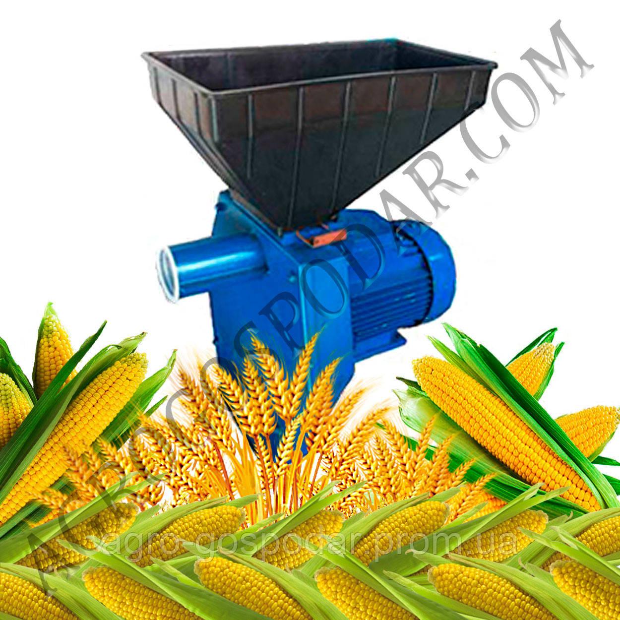 Измельчитель кормов «Эликор-1» исп.3 - зерно + початки кукурузы - АгроГосподар в Полтаве