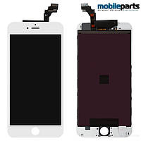 Дисплей (Модуль) + Сенсор (Тачскрин) для Apple iPhone 6 Plus (Белый) (Оригинал Китай, Tianma)