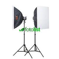 Набор студийного света Falcon SS-150H KIT-2-50х70, 2х150 Дж