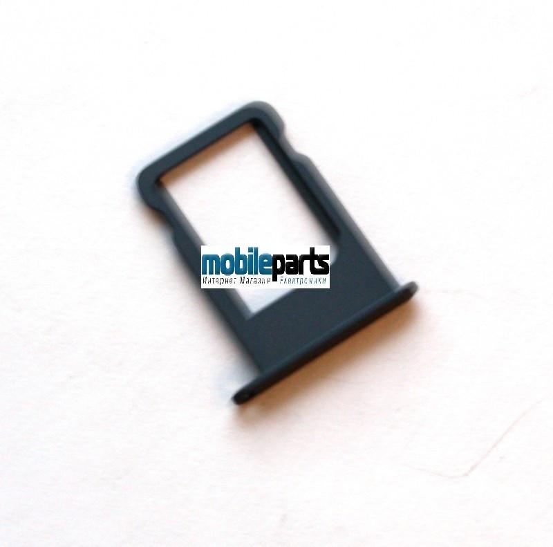 Оригинальный Сим трей (sim tray) для iPhone 5 (черный)