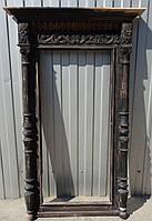 Реставрация старинной деревянной рамы для зеркала