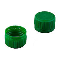 Пластиковая крышка 28 мм зеленая