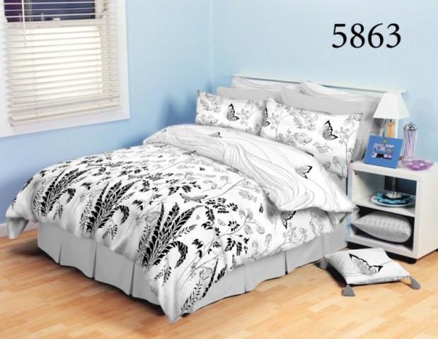 Постільна білизна Вилюта ранфорс двоспальний 5863