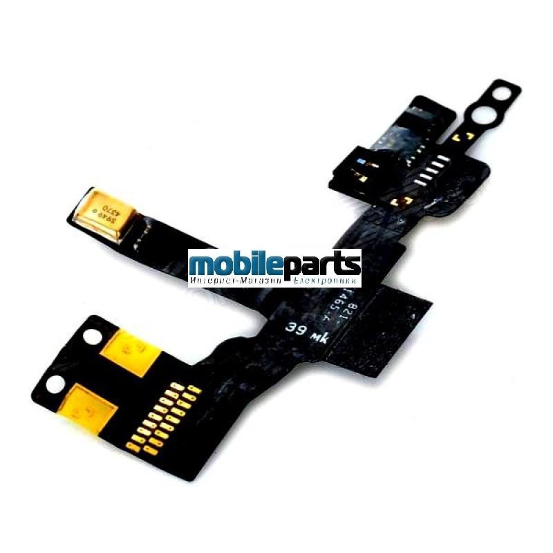 Оригинальный Шлейф Датчика Света и Динамика для iPhone 5 (light sensor flex with speaker)