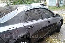 Вітровики вікон Рено Лагуна 2 (дефлектори бокових вікон Renault Laguna 2)