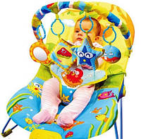 Детский Шезлонг Планета детства обезьянка ZYA (кресло-качалка), фото 1