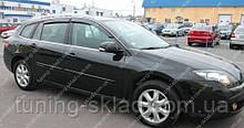 Вітровики вікон Рено Лагуна 3 (дефлектори бокових вікон Renault Laguna 3)