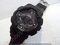 Детские часы Casio BabyG BA-111 5338 (114495) черные матовые водонепроницаемые календарь подсветка
