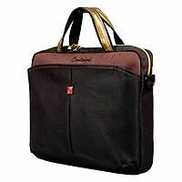 """Сумка для ноутбука Continent 13.3"""" Computer Bag (CC-013) нейлон, коричнева"""